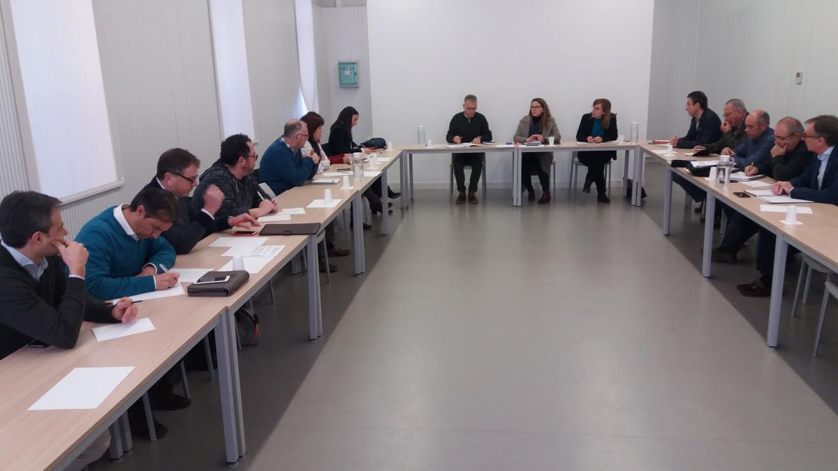 Reunión Cítricos sector y consejera (Foto Generalitat Valenciana)