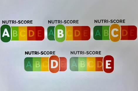 Código Alimentos Nutri Score (Imagen Ministerio de Sanidad)