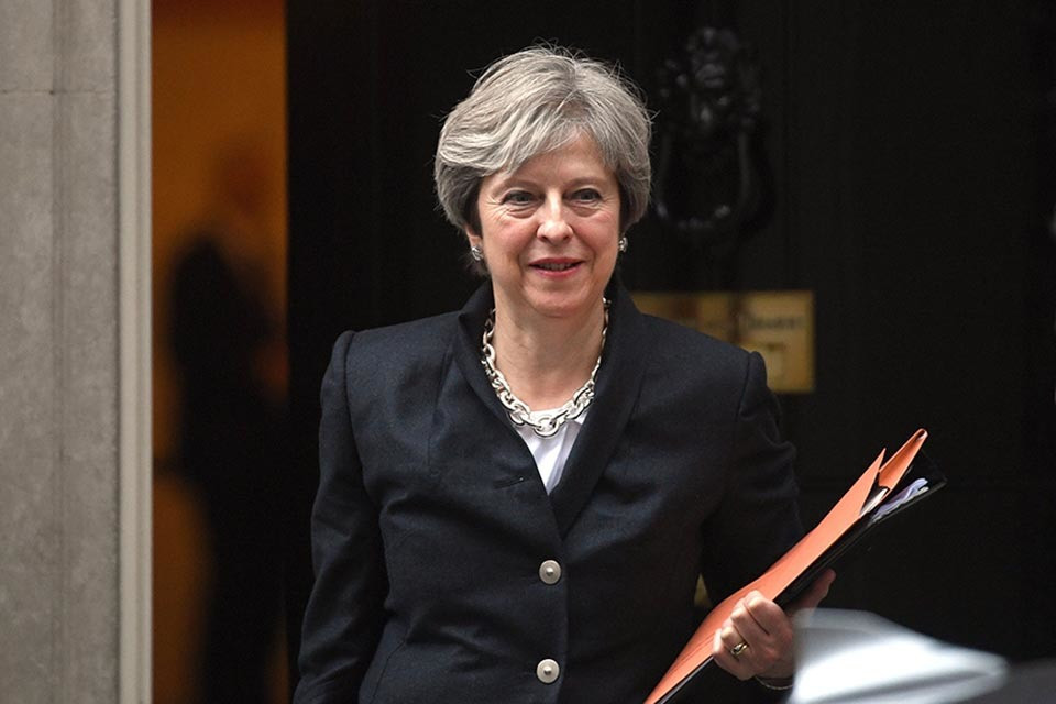 Prime Minister Theresa May (Foto Gov UK)