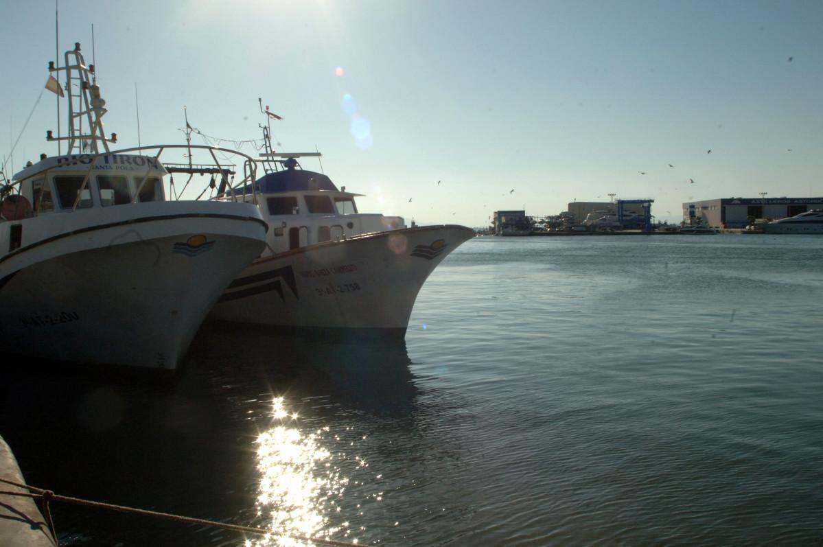 La Cofradía puerto pesquero embarcaciones (Foto Generalitat Valenciana)