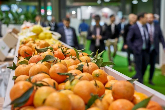 Mandarinas stand Fruit Attraction (Foto Fruit Attraction)